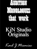 Audition Monologues from KjN On-Camera Studios